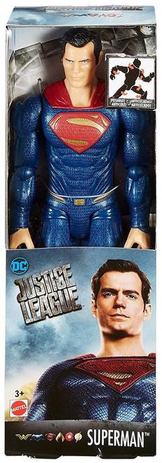 DC Justice League Movie True Moves Superman Action Figure