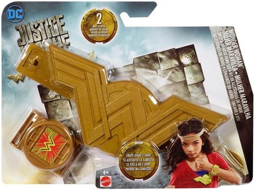 DC Justice League Movie Wonder Woman Snap & Wear-It Hero Set