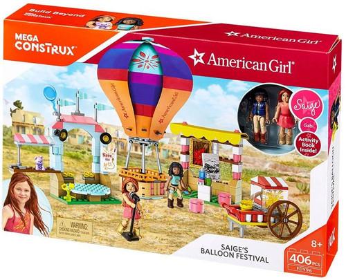 American Girl Saige's Balloon Festival Set