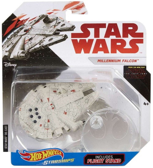 Hot Wheels Star Wars Starships Millennium Falcon Die-Cast Car