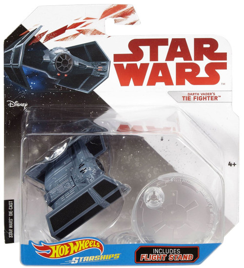 Hot Wheels Star Wars Starships Darth Vader's TIE Fighter Diecast Car