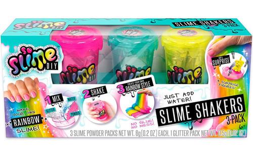 So Slime DIY Slime Shaker Rainbow 3-Pack [Pink, Blue & Yellow]