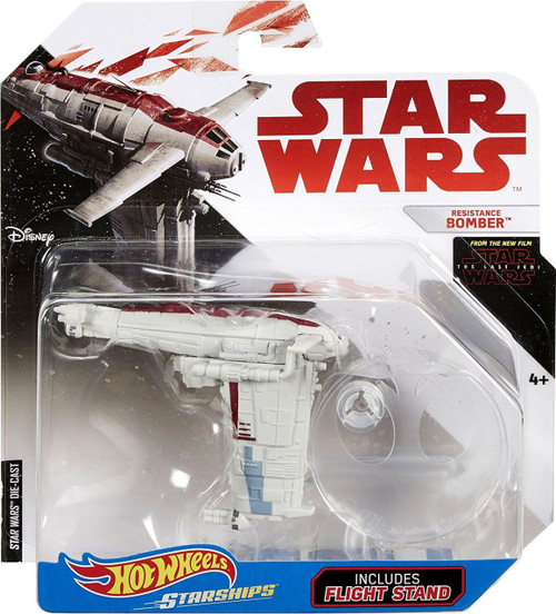 Hot Wheels Star Wars Starships Resistance Bomber Diecast Car