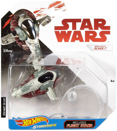 Hot Wheels Star Wars Starships Boba Fett's Slave 1 Die-Cast Car