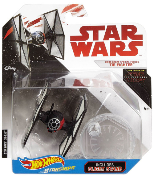 Hot Wheels Star Wars Starships First order Special Forces TIE Fighter Diecast Car