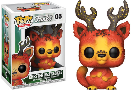 Funko Wetmore Forest POP! Monsters Chester McFreckles Vinyl Figure #04