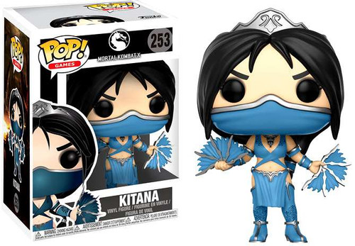 Funko Mortal Kombat POP! Games Kitana Vinyl Figure #253
