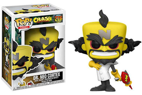 Funko Crash Bandicoot POP! Games Dr. Neo Cortex Vinyl Figure #276