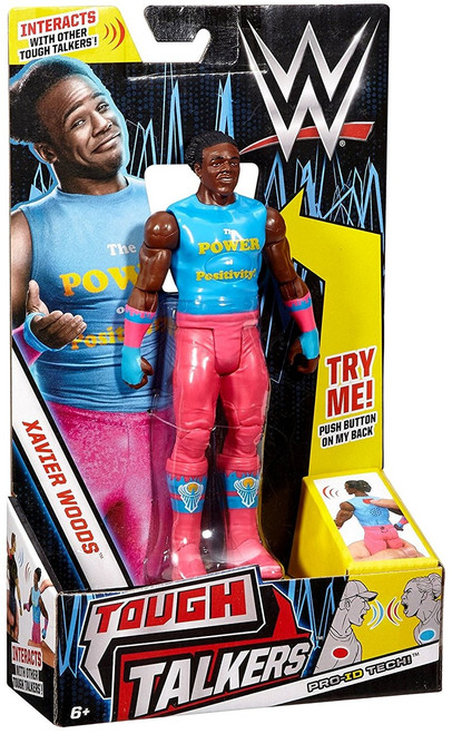 WWE Wrestling Tough Talkers Xavier Woods Action Figure