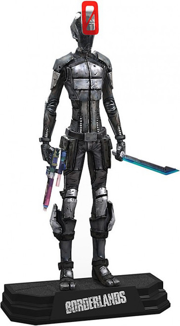 McFarlane Toys Borderlands Zer0 Action Figure [Comes with ULC Code]