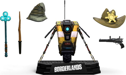 McFarlane Toys Borderlands Claptrap Deluxe Action Figure Boxed Set [Comes with ULC Code!]
