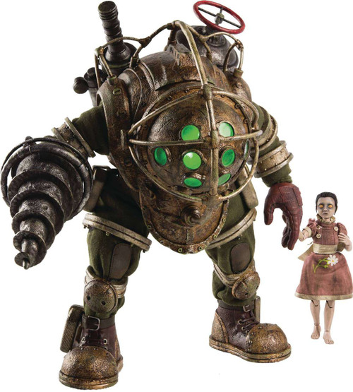Bioshock Big Daddy & Little Sister Action Figure