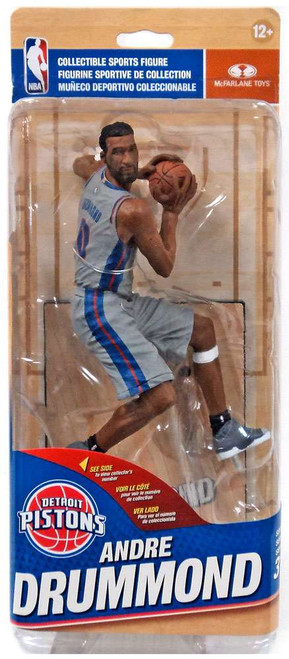 McFarlane Toys NBA Detroit Pistons Sports Picks Series 31 Andre Drummond Action Figure [Silver Alternate Uniform]