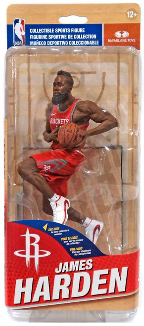 McFarlane Toys NBA Houston Rockets Sports Picks Series 31 James Harden Action Figure [Red Away Uniform]
