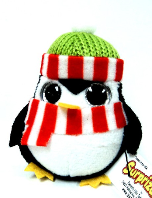 Surprizamals Holiday Penguin Mini Plush