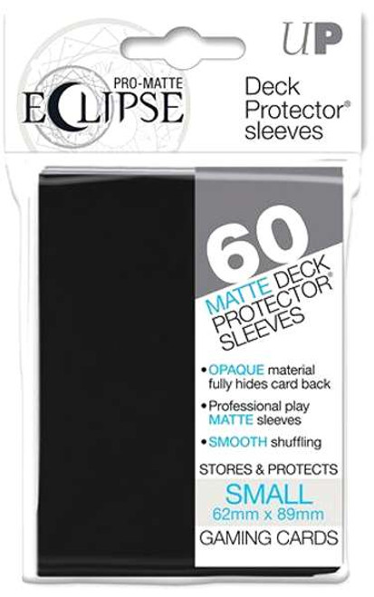 Ultra Pro Card Supplies Eclipse Pro-Matte Black Small Card Sleeves [60 Count]