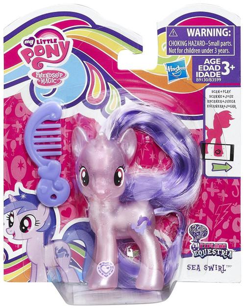 My Little Pony Friendship is Magic Explore Equestria Sea Swirl Figure