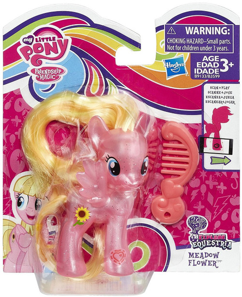 My Little Pony Friendship is Magic Explore Equestria Meadow Flower Figure