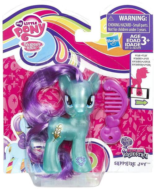 My Little Pony Friendship is Magic Explore Equestria Sapphire Joy Figure