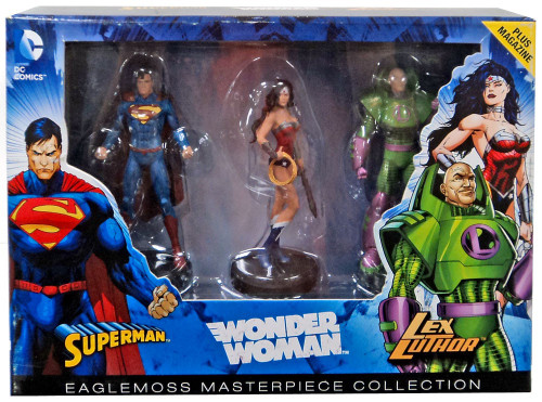 DC Masterpiece Collection Superman, Wonder Woman & Lex Luthor Collectible Figure