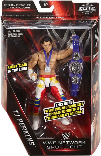 WWE Wrestling Elite Network Spotlight TJ Perkins Action Figure [Cruiserweight Championship & Tournament Medal]