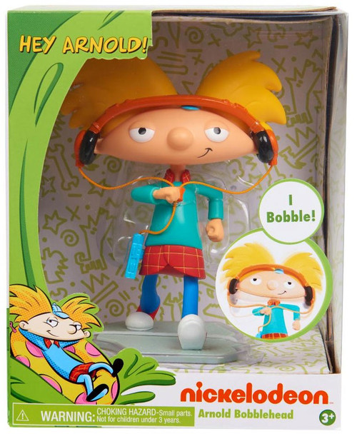NickToons Hey, Arnold! Arnold 6-Inch Bobblehead