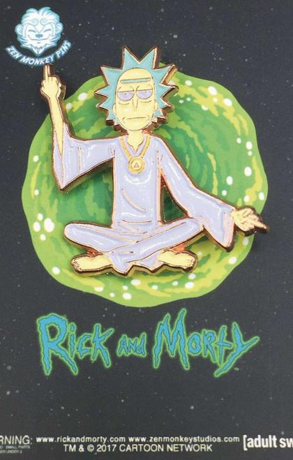 Rick & Morty Spiritual Leader Rick 1.5-Inch Enamel Pin