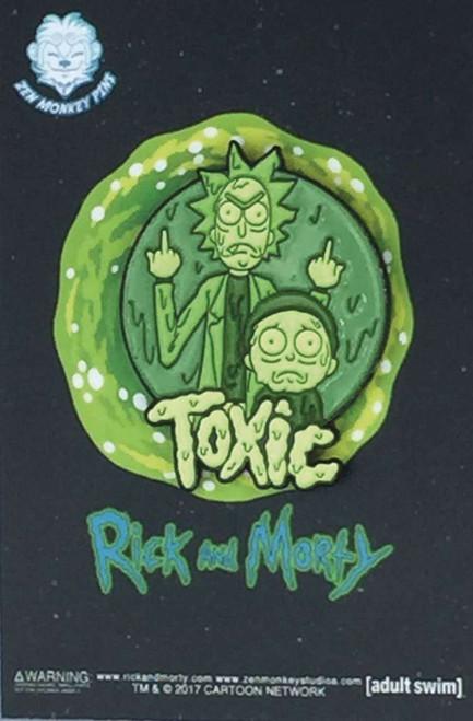 Toxic Rick & Morty 1.5-Inch Enamel Pin