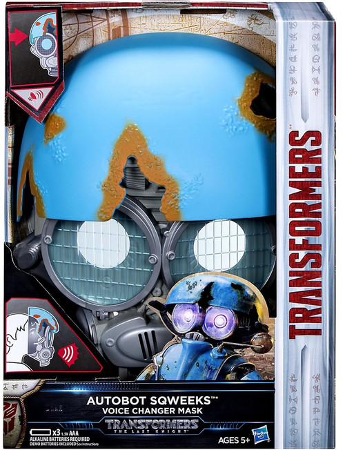 Transformers The Last Knight Sqweeks Voice Changer Mask