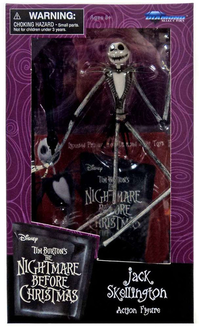 Nightmare Before Christmas Jack Skellington Exclusive Action Figure