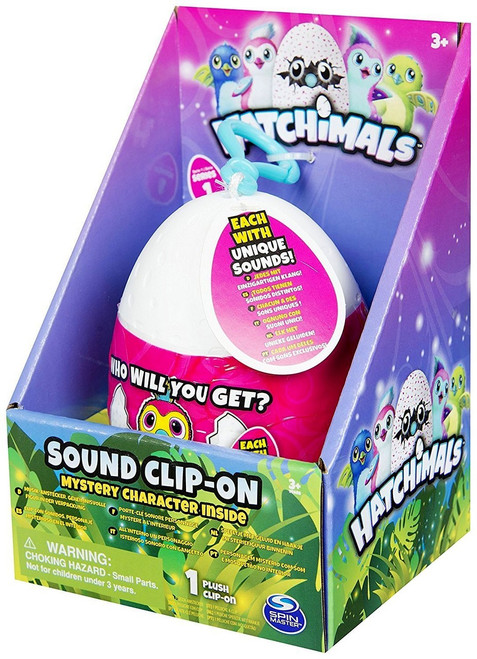 Mini Plush Sound Clip-On Hatchimals Mystery Pack