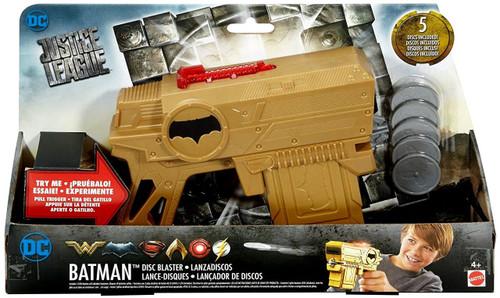 DC Justice League Movie Batman Disc Blaster