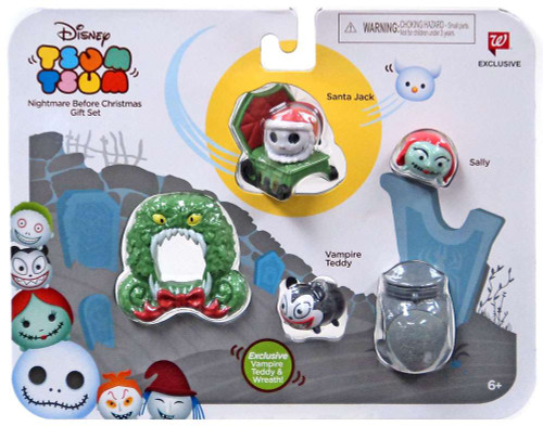 Disney Tsum Tsum Nightmare Before Christmas Exclusive 1-Inch Minifigure 3-Pack