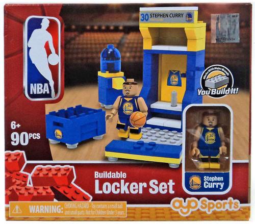 NBA Golden State Warriors Stephen Curry Buildable Locker Set