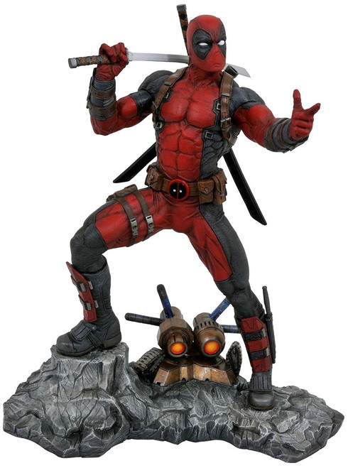 X-Men Marvel Premier Collection Deadpool 12-Inch Resin Statue