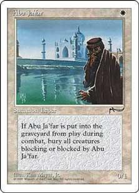 MtG Chronicles Uncommon Abu Ja'far