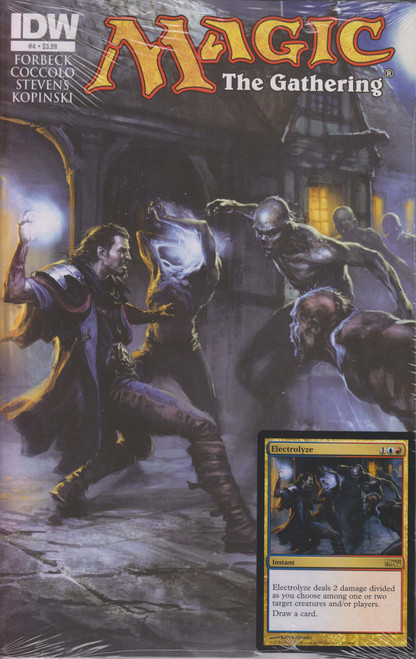 Magic The Gathering #4 Comic Book [Sealed with Electolyze Promo Card]
