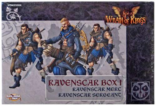 Wrath of Kings House Goritsi Ravenscar Box 1 Miniatures WOK05004 [Ravenscar Merc & Ravenscar Sergeant]