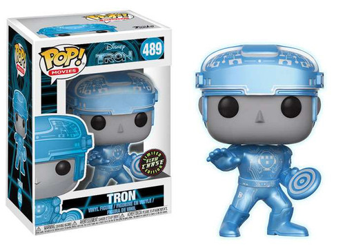 Funko POP! Movies Tron Vinyl Figure #489 [Chase Version]