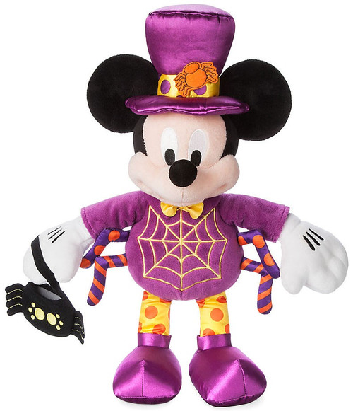 Disney 2017 Halloween Mickey Mouse Exclusive 15-Inch Plush [Spider]
