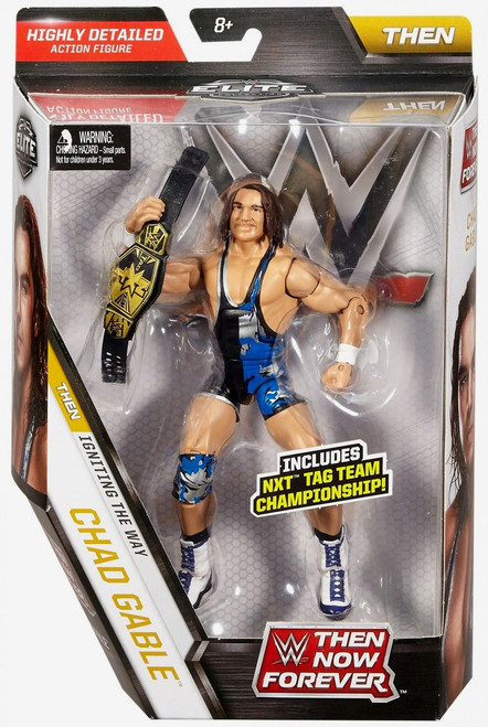 WWE Wrestling Elite Collection Then Now Forever Chad Gable Exclusive Action Figure [NXT Tag Team Championship]