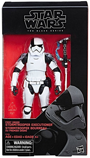 """Star Wars The Last Jedi Black Series First Order Stormtrooper Executioner Exclusive Action Figure [6""""]"""