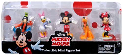 Disney Mickey Mouse Mini Figure 5-Pack