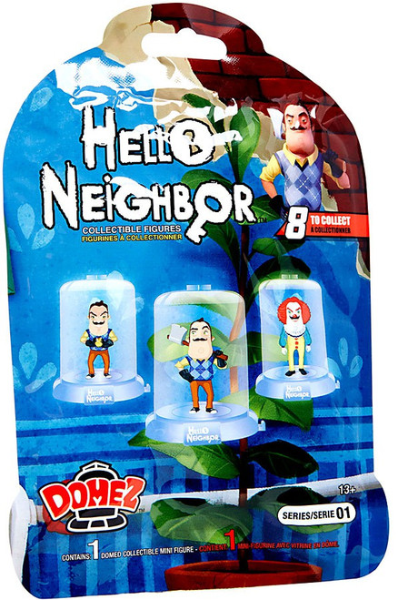 Domez Hello Neighbor Mystery Pack [1 RANDOM Figure]