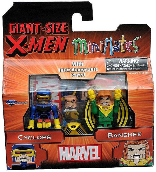 Marvel Giant Size X-Men Minimates Cyclops & Banshee Minifigure 2-Pack
