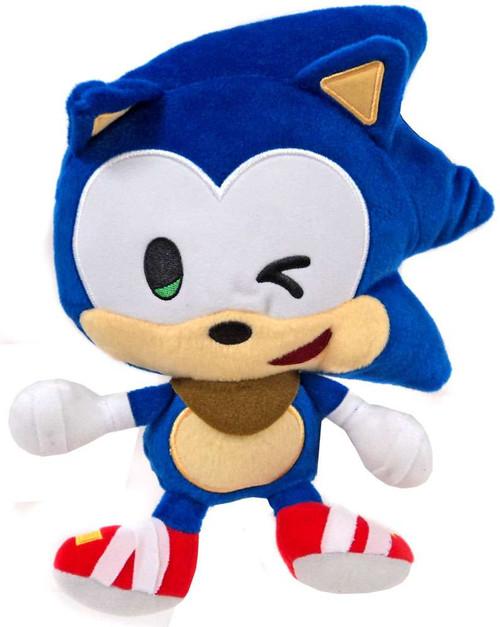 Sonic The Hedgehog Sonic Boom Emoji Sonic 8-Inch Plush [Winking]