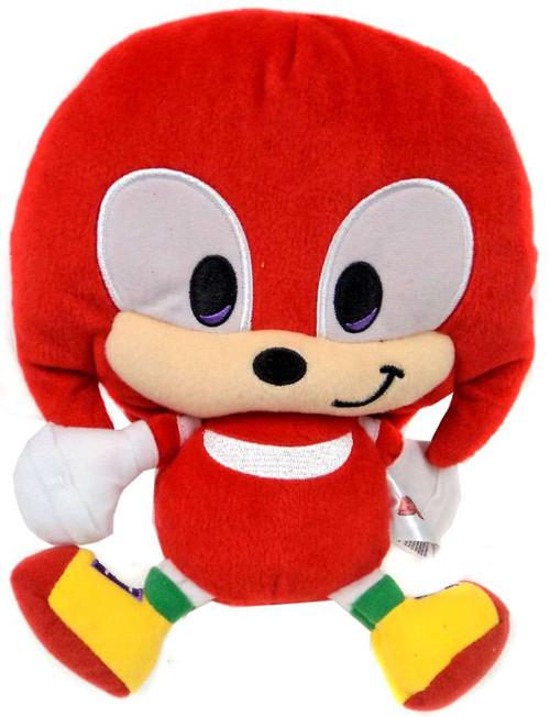 Sonic The Hedgehog Sonic Boom Emoji Knuckles 8-Inch Plush [Happy Smile]