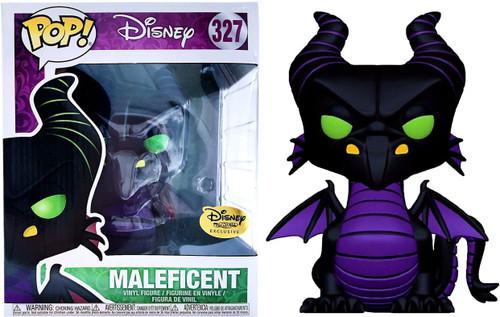 Funko POP! Disney Maleficent Dragon Exclusive Vinyl Figure #327 [Haunted Forest]