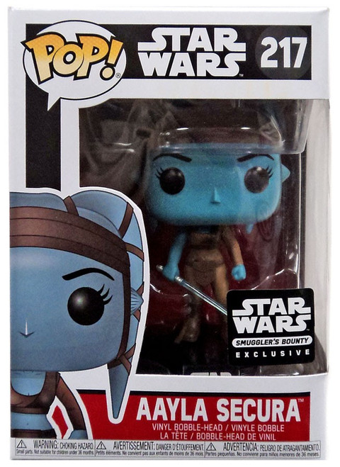 Funko POP! Star Wars Aayla Secura Exclusive Vinyl Bobble Head #217 [Jedi Box]