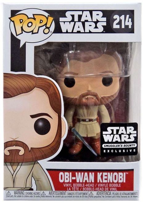 Funko POP! Star Wars Obi-Wan Kenobi Exclusive Vinyl Bobble Head #214 [Jedi Box]